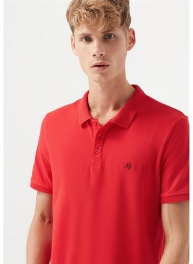 Mavi Erkek  Polo Tişört 065495-31557 Kırmızı